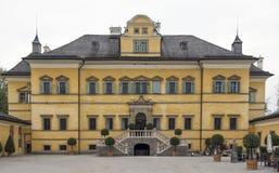 Palacio de Hellbrunn Fotos de archivo libres de regalías