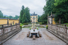Palacio de Hellbrunn, cerca de Salzburg, Austria Imágenes de archivo libres de regalías