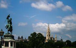 Palacio de Hofburg en Viena, Imagenes de archivo