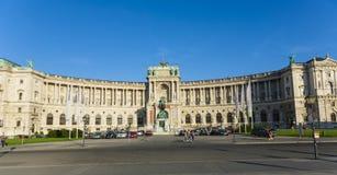 Palacio de Hofburg en Viena, Austria fotos de archivo