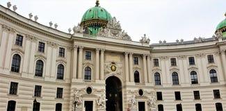 Palacio de Hofburg, Viena Fotografía de archivo