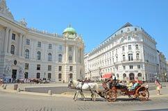 Palacio de Hofburg, Viena, Austria Fotografía de archivo libre de regalías