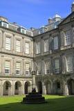 Palacio de Holyrood en Edimburgo, Escocia Imágenes de archivo libres de regalías