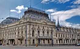 Palacio de Izrael Poznanski Fotos de archivo libres de regalías