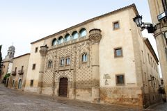 Palacio DE Jabalquinto Baeza Jaen Spanje Royalty-vrije Stock Fotografie