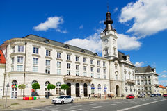 Palacio de Jablonowski en Varsovia, Polonia fotografía de archivo