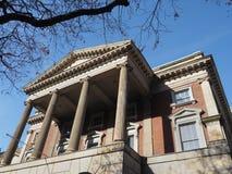 Palacio de Justicia clásico del estilo Fotografía de archivo