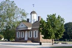 Palacio de justicia colonial Imágenes de archivo libres de regalías