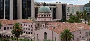 Palacio de justicia de condado de Pima Imagen de archivo