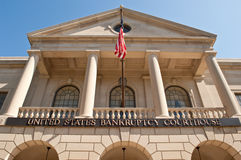 Palacio de justicia de la bancarrota de Estados Unidos Fotos de archivo