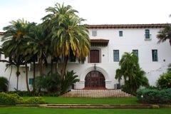 Palacio de Justicia de Santa Barbara Foto de archivo