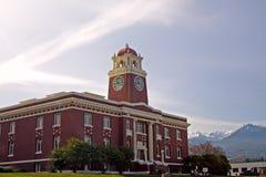 Palacio de justicia del condado de Clallum, Washington imagen de archivo