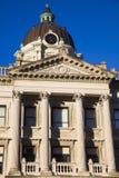 Palacio de justicia en Bloomington Imágenes de archivo libres de regalías