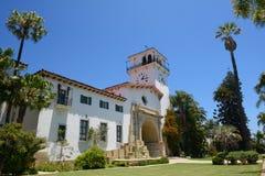 Palacio de Justicia en Santa Barbara California Foto de archivo