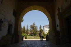 Palacio de Justicia en Santa Barbara California Fotos de archivo libres de regalías