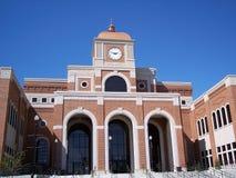 Palacio de justicia a la vista Fotografía de archivo libre de regalías