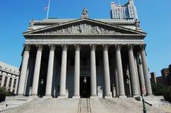 Palacio de justicia supremo del Estado de Nuevo York fotografía de archivo libre de regalías