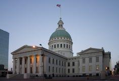 Palacio de justicia viejo en St. Louis Fotos de archivo