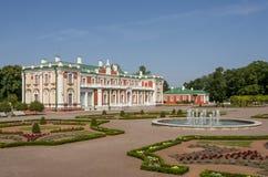 Palacio de Kadriorg Imagen de archivo libre de regalías