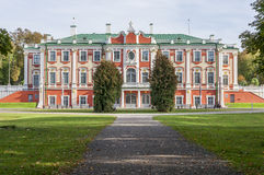 Palacio de Kadriorg Fotografía de archivo libre de regalías