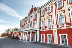 Palacio de Kadriorg Imágenes de archivo libres de regalías