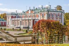 Palacio de Kadriorg en Tallinn Imagenes de archivo