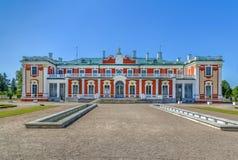 Palacio de Kadriorg, Tallinn, Estonia imagen de archivo