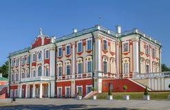Palacio de Kadriorg, Tallinn, Estonia fotos de archivo