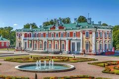 Palacio de Kadriorg, Tallinn, Estonia fotografía de archivo