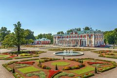 Palacio de Kadriorg, Tallinn, Estonia fotos de archivo libres de regalías