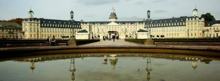 Palacio de Karlsruhe Fotografía de archivo libre de regalías
