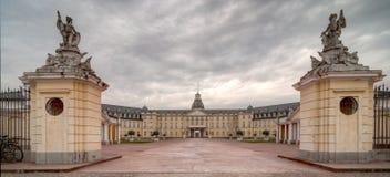 Palacio de Karlsruhe Imagenes de archivo