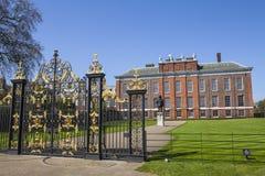 Palacio de Kensington en Londres Imagenes de archivo
