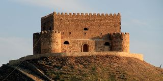 Palacio de Khanzad Imagenes de archivo
