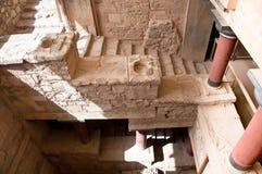 Palacio de Knossos. Imagen de archivo libre de regalías
