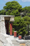 Palacio de Knossos Foto de archivo libre de regalías