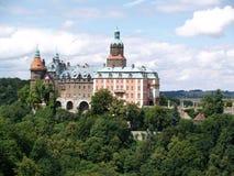 Palacio de Ksiaz, Polonia Foto de archivo libre de regalías