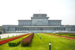 Palacio de Kumsusan del Sun Pyongyang, DPRK - Corea del Norte  fotografía de archivo