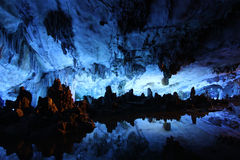 Palacio de lámina del cristal de la jaula de la flauta Foto de archivo libre de regalías
