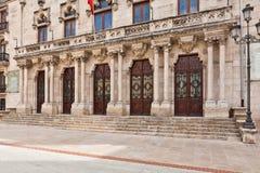 Palacio de la Capitania, Burgos, Spain Stock Image