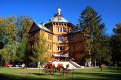 Palacio de la caza de Radziwill fotografía de archivo
