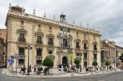 Palacio de la Chancilleria in Granada, Spanien Stockfotografie