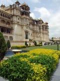 Palacio de la ciudad de Udaipur, la India Imagenes de archivo