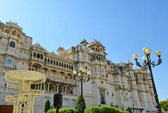 Palacio de la ciudad del udaipur Rajasthán Fotografía de archivo libre de regalías