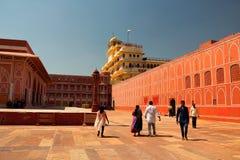 Palacio de la ciudad en Jaipur Fotografía de archivo libre de regalías