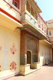 Palacio de la ciudad en Jaipur Imagenes de archivo