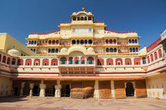Palacio de la ciudad en Jaipur Imágenes de archivo libres de regalías