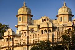 Palacio de la ciudad en Udaipur la India Imagen de archivo libre de regalías