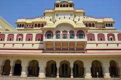 Palacio de la ciudad, Jaipur, la India Imágenes de archivo libres de regalías