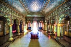 Palacio de la ciudad de Jaipur, Rajasthán, la India fotos de archivo libres de regalías